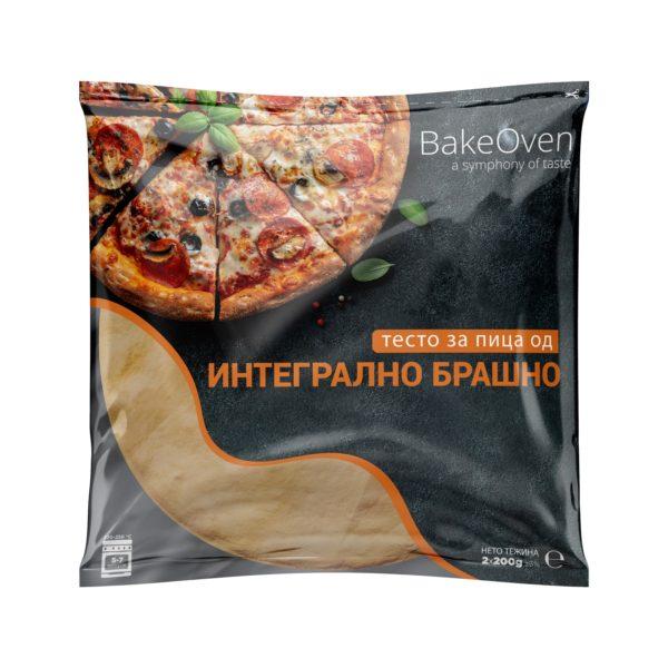 Тесто за пица интегрално