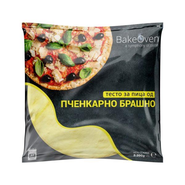 Тесто за пица пченкарно